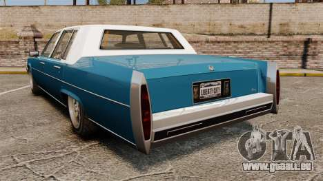 Emperor New Wheel pour GTA 4 Vue arrière de la gauche