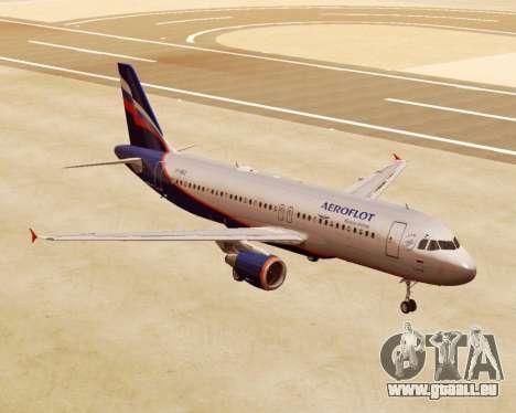 Airbus A320-200 Aeroflot für GTA San Andreas