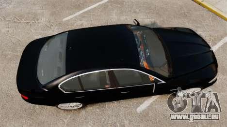 BMW M5 F10 2012 Japanese Unmarked Police [ELS] pour GTA 4 est un droit
