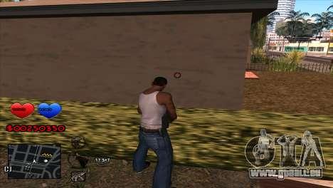 C-HUD für GTA San Andreas zweiten Screenshot