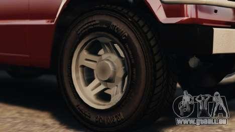 Mitsubishi Pajero I WAGON für GTA 4 rechte Ansicht