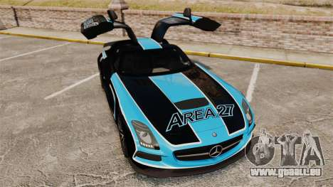 Mercedes-Benz SLS 2014 AMG Black Series Area 27 für GTA 4 obere Ansicht