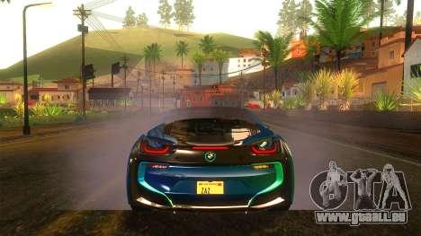 BMW I8 2013 für GTA San Andreas Seitenansicht