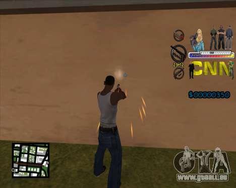 C-HUD CNN pour GTA San Andreas deuxième écran