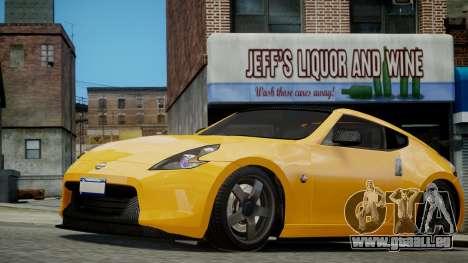 Nissan 370Z 2009 pour GTA 4