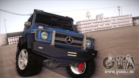 Mercedes-Benz G63 AMG 6X6 pour GTA San Andreas