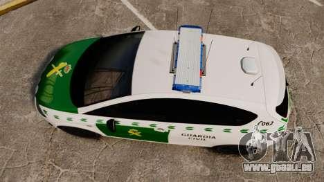 Seat Cupra Guardia Civil [ELS] für GTA 4 rechte Ansicht