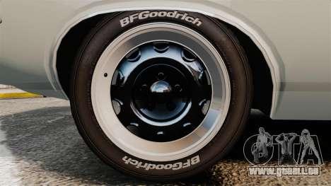 Dodge Challenger 1971 Vanishing Point für GTA 4 Rückansicht