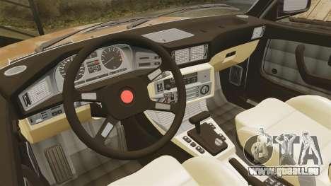 BMW 535is E28 Sharkie für GTA 4 Seitenansicht