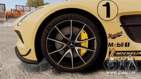 Mercedes-Benz SLS 2014 AMG Driving Academy v2.0 für GTA 4 Rückansicht
