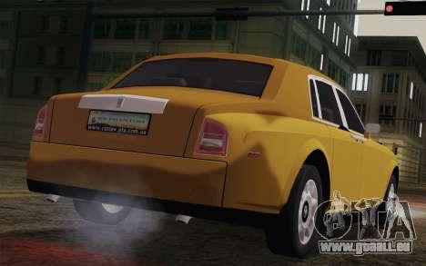 Rolls Royce Phantom 2003 für GTA San Andreas linke Ansicht