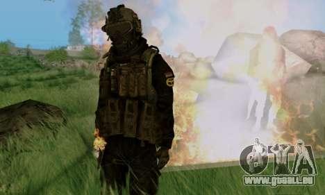 Kopassus Skin 3 pour GTA San Andreas septième écran