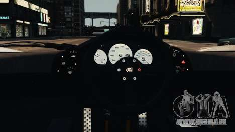 McLaren F1 XP5 für GTA 4 Seitenansicht