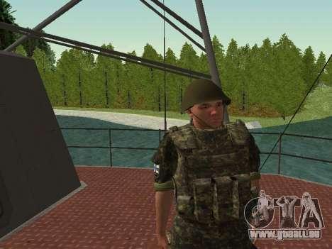 Le Corps des marines des forces armées de l'Ukra pour GTA San Andreas neuvième écran
