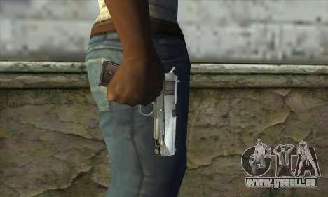 Pistolet pour GTA San Andreas troisième écran