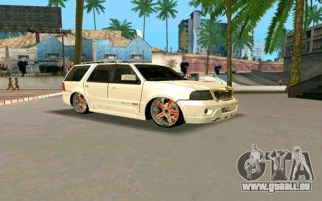 Lincoln Navigator DUB Edition pour GTA San Andreas
