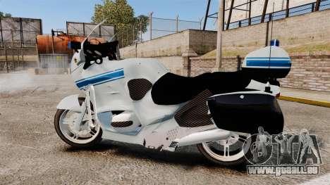 BMW R1150RT Police municipale [ELS] für GTA 4 linke Ansicht