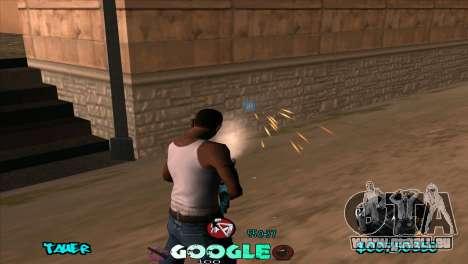 C-HUD Google für GTA San Andreas her Screenshot
