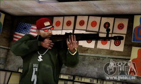 Alfa Team Weapon Pack für GTA San Andreas achten Screenshot