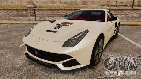 Ferrari F12 Berlinetta 2013 [EPM] Deaths-head für GTA 4