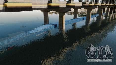 Die Straße unter der Brücke für GTA 4 dritte Screenshot