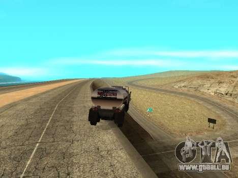 Anti-dételage de la remorque pour GTA San Andreas deuxième écran