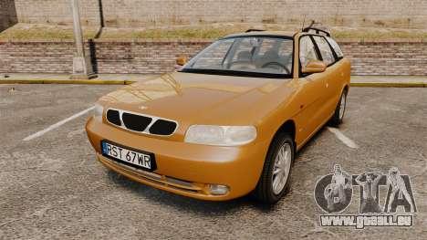 Daewoo Nubira I Wagon CDX PL 1998 für GTA 4