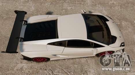 Lamborghini Gallardo LP570-4 Super Trofeo pour GTA 4 est un droit