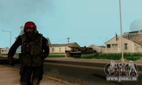 Kopassus Skin 1 pour GTA San Andreas quatrième écran