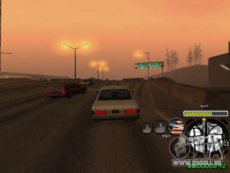 C-HUD Andy Cardozo pour GTA San Andreas sixième écran