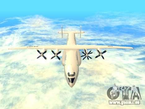 Une-22 Antei pour GTA San Andreas vue intérieure