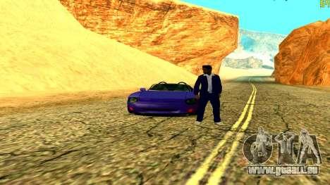 New Banshee pour GTA San Andreas vue de droite