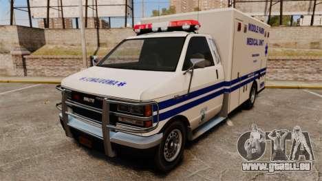 Brute MPMU Ambulance pour GTA 4