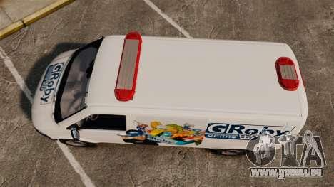 Volkswagen Transporter T5 Groby Netshop [ELS] für GTA 4 rechte Ansicht