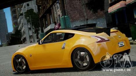 Nissan 370Z 2009 pour GTA 4 est une gauche