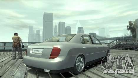 Daewoo Shiraz pour GTA 4 est une gauche