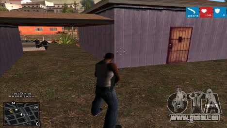 C-HUD Lumia GTA V für GTA San Andreas dritten Screenshot