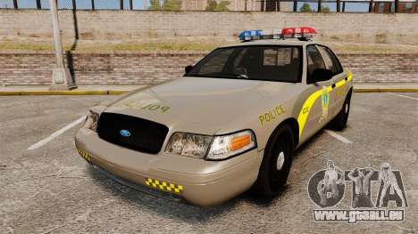 Ford Crown Victoria NLSP [ELS] pour GTA 4