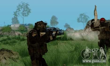 Kopassus Skin 3 für GTA San Andreas sechsten Screenshot