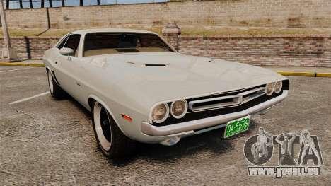 Dodge Challenger 1971 Vanishing Point für GTA 4