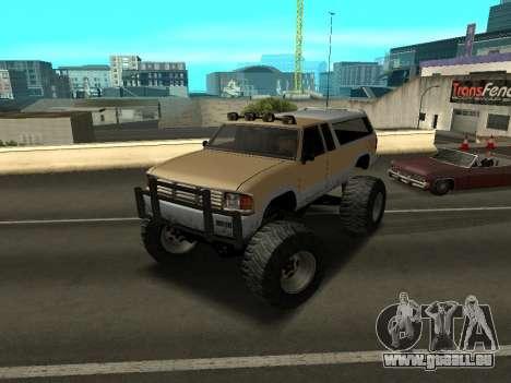 Nouveau Monstre pour GTA San Andreas laissé vue