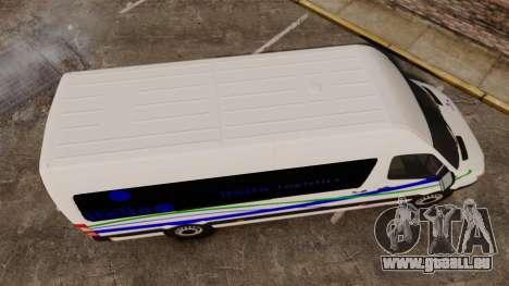 Mercedes-Benz Sprinter Itella Logistics für GTA 4 rechte Ansicht