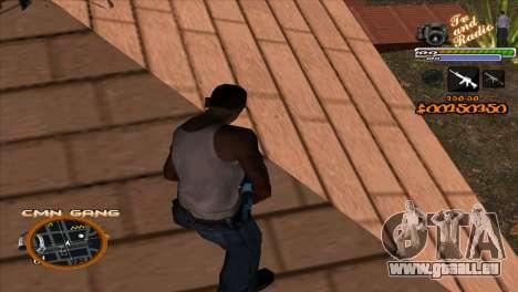 C-HUD-TV-Center für GTA San Andreas zweiten Screenshot