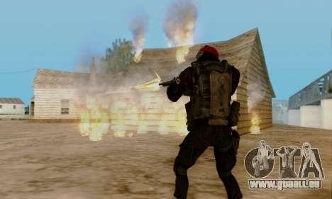Kopassus Skin 1 für GTA San Andreas achten Screenshot