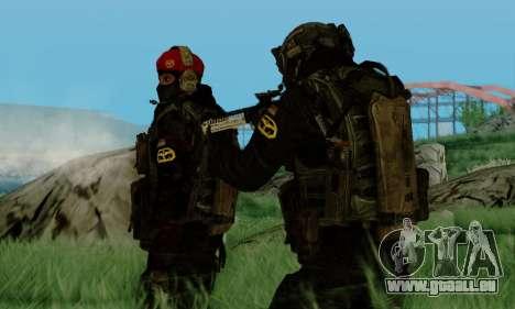 Kopassus Skin 3 pour GTA San Andreas cinquième écran