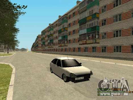 VAZ 2172 pour GTA San Andreas