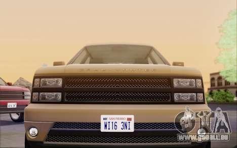 Gallivanter Baller из GTA V für GTA San Andreas obere Ansicht