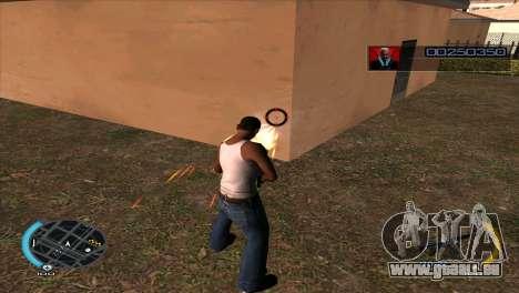 C-HUD Hitman Absolution pour GTA San Andreas troisième écran