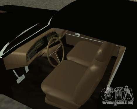 Buick Riviera 1972  Classic pour GTA San Andreas sur la vue arrière gauche