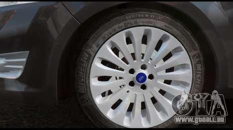 Ford Mondeo Mk.IV für GTA 4 hinten links Ansicht